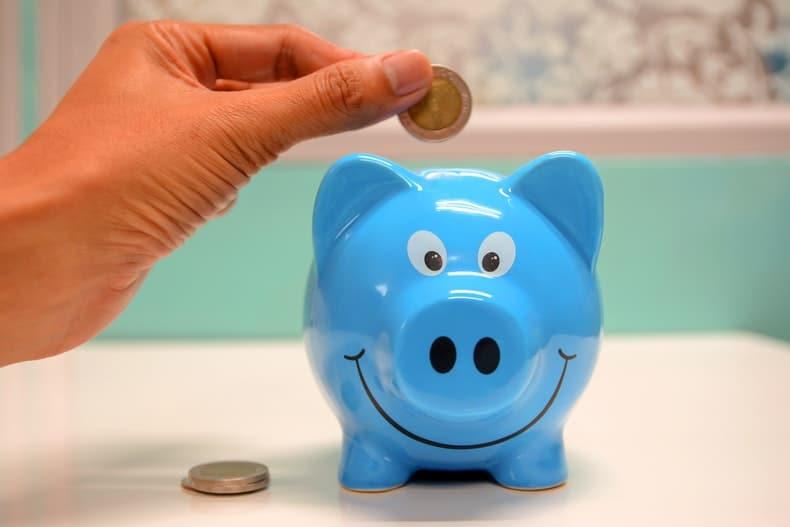 świnka skarbonka - oszczędzanie piniędzy