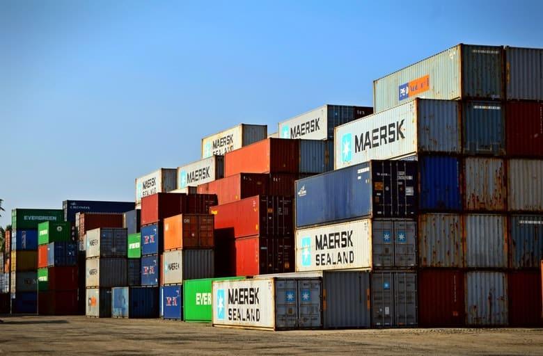 kontenery import i eksport