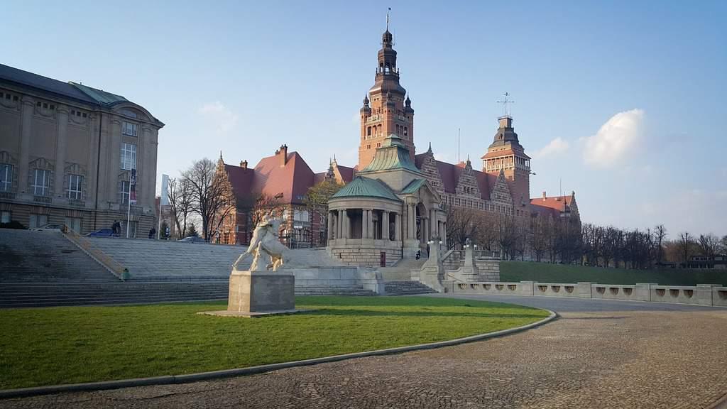 Widok Szczecin