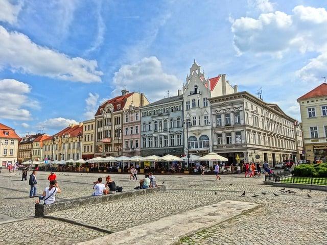 Bydgoszcz rynek panorama